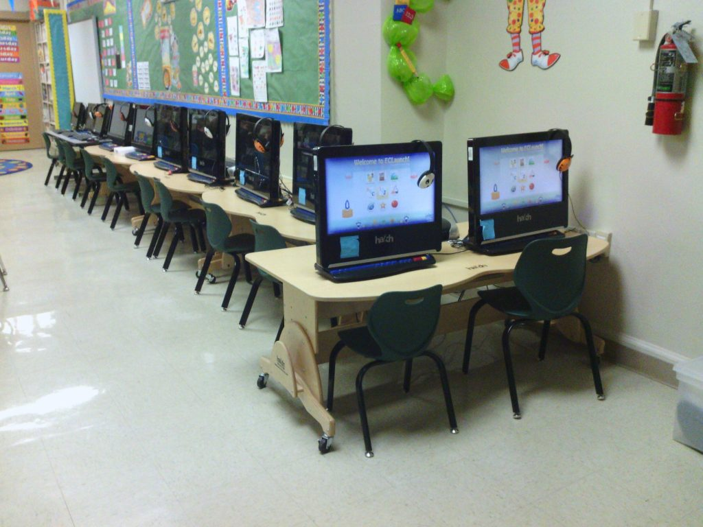 upgraded classroom