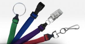 What is the business towards lanyards