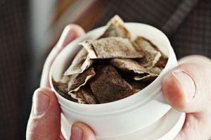 non tobacco mint pouches