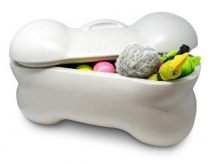 dog food, treats and toys