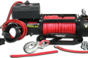 4x4 winch wire at Sunyee.
